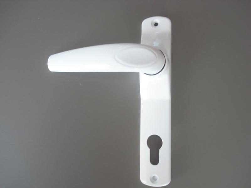 ACCESS DH 610 дръжка за врата  с цял шилд - бяла